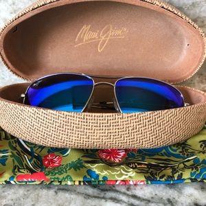 "Maui Jim Accessories - Maui Jim ""Wiki Wiki"" Polarized Aviator Sunglasses"